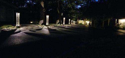 Evening Shade at Night